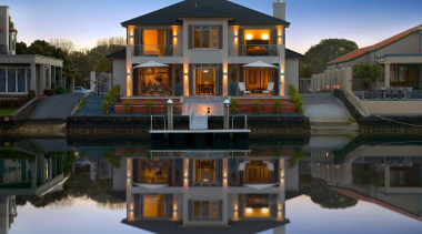 pauanui  mds 1 - pauanui__mds_1 - building building, cottage, estate, facade, home, house, mansion, property, real estate, reflection, residential area, sky, villa, water, waterway, black, teal