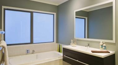 Bathroom - bathroom | home | interior design bathroom, home, interior design, real estate, room, window, window covering, gray