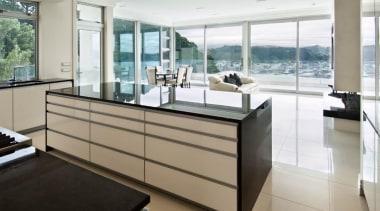 Wellington Kitchen of the Year 2010 - Wellington countertop, floor, flooring, interior design, kitchen, property, real estate, window, gray