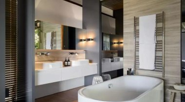 See the bathroom bathroom, interior design, room, gray, black