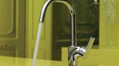 Kohler Singulier Single Lever Kitchen Mixer - My plumbing fixture, product design, tap, brown, yellow