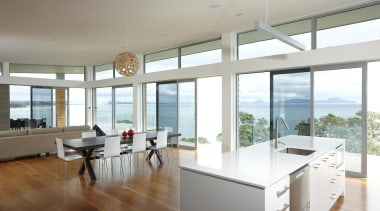 Waipu - Overlite Windows - waipu - architecture architecture, ceiling, daylighting, floor, house, interior design, kitchen, property, real estate, window, white, gray