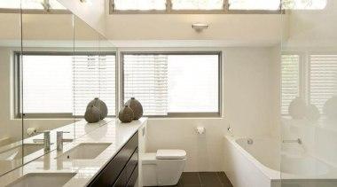 Joshua Mulders Architects Nougat - Nougat™ - bathroom bathroom, daylighting, floor, interior design, room, sink, window, gray
