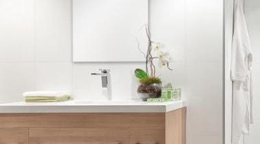 HardieGlaze Lining - HardieGlaze Lining 4 - bathroom bathroom, bathroom accessory, bathroom cabinet, floor, furniture, interior design, product, sink, tap, white