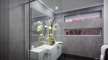 Ensuite design. - The Monterosso Two Storey Display architecture, bathroom, interior design, gray