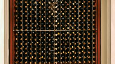 068goodlands 19 - Goodlands_19 - curtain | decor curtain, decor, flooring, interior design, light fixture, lighting, textile, wall, window, window blind, window covering, window treatment, wine cellar, wood, brown, orange, black