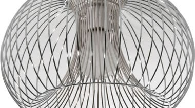 FeaturesIncorporates chrome wire creatively styled into a contemporary black and white, circle, line, product, product design, storage basket, structure, white, gray