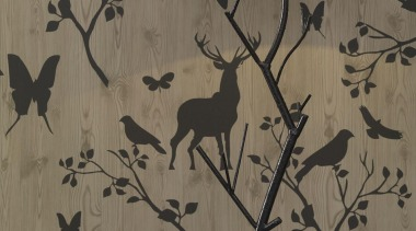 Modern Style Range - branch   design   branch, design, fauna, pattern, wall, wallpaper, wood, gray