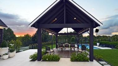 001open2viewid31278025sunnysideroad - 001 Sunnysideroad - estate | gazebo estate, gazebo, outdoor structure, pavilion, property, real estate, roof, gray, white