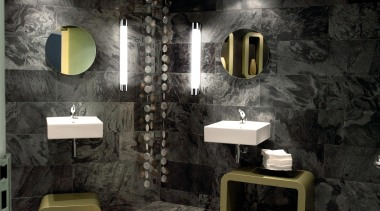 Wall Lights - Wall Lights - bathroom | bathroom, interior design, room, wall, black
