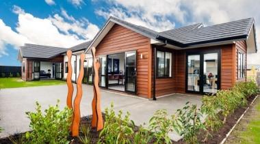 Landmark Homes Abel Tasman Design - Landmark Homes cottage, estate, facade, home, house, property, real estate, residential area, white