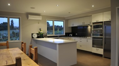 For more information, please visit www.gjgardner.co.nz countertop, interior design, kitchen, real estate, room, brown