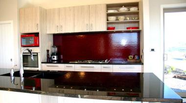 modern melamine kitchen design Millwater 2014 - modern cabinetry, countertop, interior design, kitchen, white