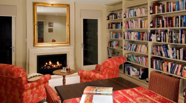 143 mahoenui 13 - Mahoenui 13 - bookcase bookcase, furniture, home, interior design, library, living room, room, shelving, brown