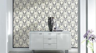 Black and White III Range - bathroom accessory bathroom accessory, chest of drawers, floor, flooring, furniture, interior design, tap, tile, wall, wallpaper, white, gray