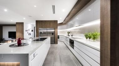 Urbane Projects countertop, cuisine classique, house, interior design, kitchen, real estate, white