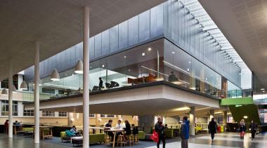 NOMINEEVictoria University of Wellington Campus Hub (4 of building, lobby, mixed use, gray