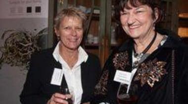 De Moss-Mason (Millhouse Mews) and Colleen Wright (Dempsey award, socialite, black