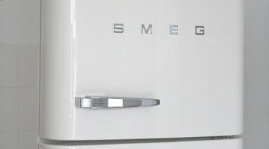For the love of Smeg - White Smeg bathroom accessory, chest of drawers, furniture, home appliance, product, product design, tap, gray