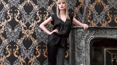 Camarque Range - Camarque Range - fashion   fashion, fashion design, fashion model, girl, pattern, wallpaper, black