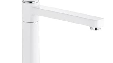 Zenta White Sink Mixer - Zenta White Sink hardware, lighting, plumbing fixture, product, product design, tap, white