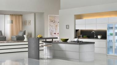 Part of the deluxe range, Raven is slate countertop, cuisine classique, floor, interior design, interior designer, kitchen, living room, product design, room, gray
