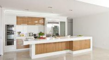 Laminex Timber Veneer in Zebrano was used to countertop, interior design, kitchen, property, real estate, white