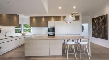Entrants: Davinia Sutton & Sam Lawrence – 2015 countertop, cuisine classique, floor, interior design, interior designer, kitchen, gray
