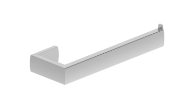 • Manufactured in Australia• Warranty 10 Years• Double angle, bathroom accessory, hardware accessory, line, product design, white