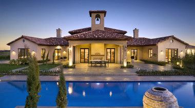 101goodlands 21 - Goodlands_21 - estate | facade estate, facade, hacienda, home, house, lighting, mansion, property, real estate, reflection, residential area, resort, sky, swimming pool, villa, water, blue