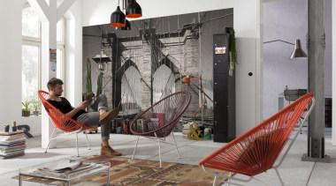 Walkway Interieur - Italian Color Range - furniture furniture, interior design, gray