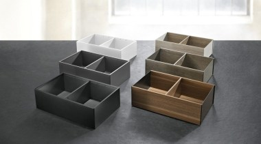 AMBIA-LINE inner dividing system – organization at its furniture, product design, table, white, black, gray