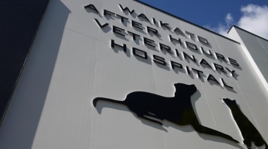 Waikato Veterinary Hospital - Waikato Veterinary Hospital - architecture, building, facade, sky, gray, black