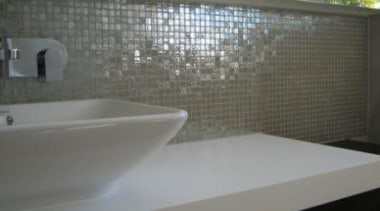 silver lux sink - Vetro Mosaics Range - bathroom, ceramic, countertop, floor, flooring, interior design, property, sink, tile, wall, gray