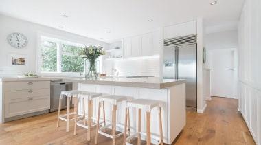 Entrant: Emma Morris #2 – 2015 NKBA Design countertop, floor, flooring, home, interior design, kitchen, property, real estate, room, wood flooring, white, gray