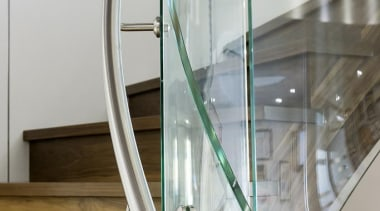 Atrium Homes - Atrium Homes - architecture | architecture, glass, handrail, product design, stairs, gray