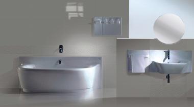 Grey and grey geo bathroom wall tiles - angle, bathroom, bathroom accessory, bathroom cabinet, bathroom sink, bidet, ceramic, plumbing fixture, product, product design, sink, tap, gray