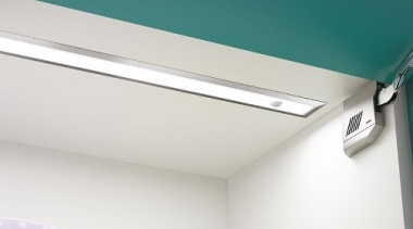 Designed in Italy to comply with Australian/New Zealand angle, architecture, ceiling, daylighting, house, light, light fixture, lighting, product design, white, teal