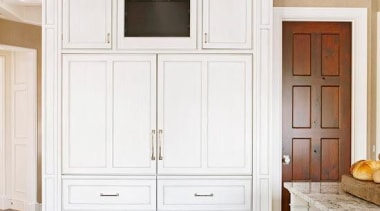White Fridge - White Fridge - cabinetry | cabinetry, ceiling, chest of drawers, cupboard, door, floor, furniture, hardwood, home, interior design, molding, wall, window, wood flooring, wood stain, white