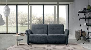 PRIANERA Canova - PRIANERA Canova - angle   angle, chair, couch, floor, furniture, home, interior design, living room, loveseat, recliner, sofa bed, table, window, gray, white