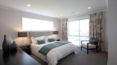 For more information, please visit www.gjgardner.co.nz bed frame, bedroom, ceiling, home, interior design, property, real estate, room, wall, window, gray