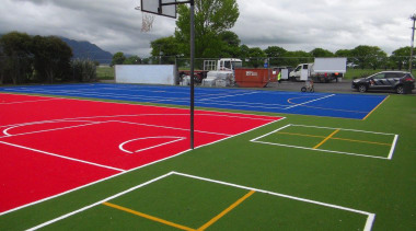 Pre-school, primary & seconday education ball game, grass, line, sport venue, sports, structure, tennis court, green