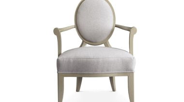 """A good room is an overall harmonious composition armrest, chair, furniture, product, product design, white"