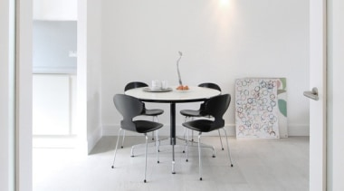 361 Concreate white house - 361_Concreate_white_house - architecture architecture, chair, floor, flooring, furniture, hardwood, home, house, interior design, laminate flooring, product design, room, table, tile, wall, wood, wood flooring, white