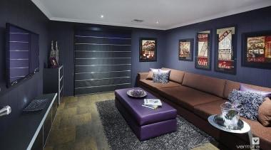 Home theatre design. - the_allure_24.jpg - ceiling   ceiling, home, interior design, living room, real estate, room, black, gray