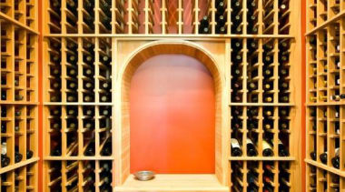 Modern Wine Cellar Ideas - Modern Wine Cellar window, wine cellar, winery, orange, brown