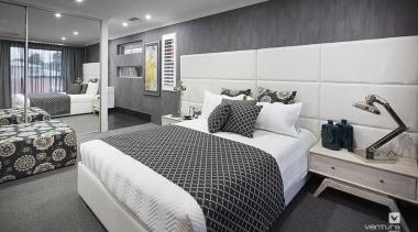 Master ensuite design. - The Monterosso Two Storey bed frame, bedroom, interior design, real estate, room, gray