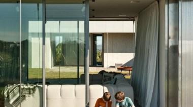 Sliding doors - architecture | facade | house architecture, facade, house, window, brown, white