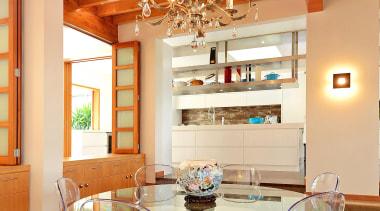 6006156.jpg - 6006156.jpg - ceiling | dining room ceiling, dining room, furniture, home, interior design, living room, real estate, room, table, wall, brown, orange