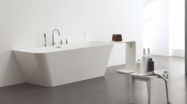 Waterware have searched out tapware, vanities, toilets, baths angle, bathroom, bathroom sink, bidet, ceramic, floor, furniture, plumbing fixture, sink, tap, white, gray
